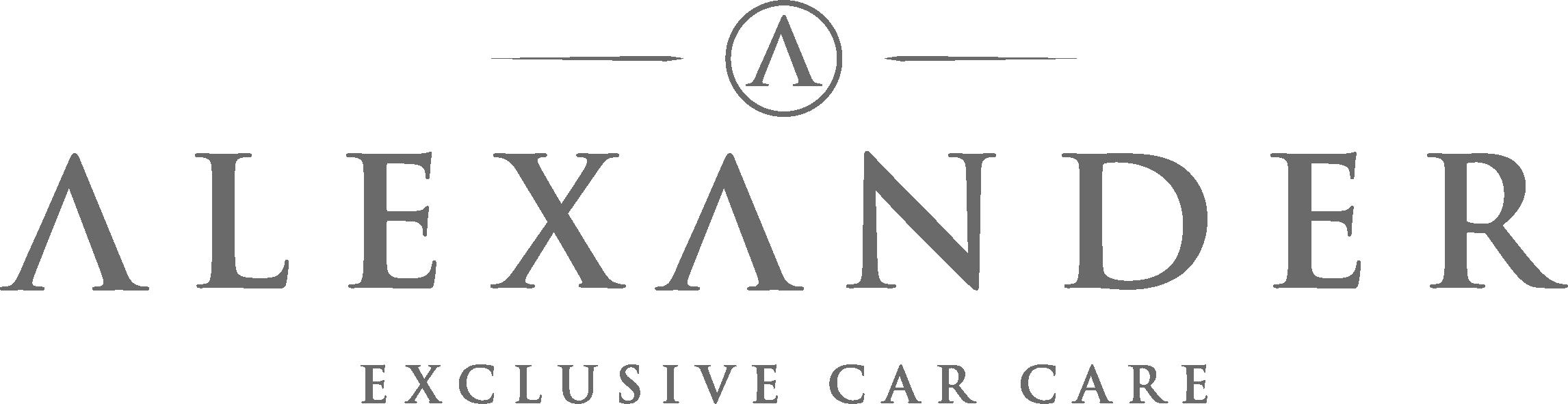 Logo Alexander - Exclusive Car Care
